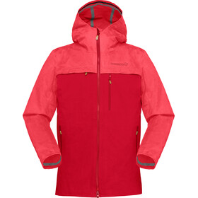 Norrøna Svalbard Cotton Jacket Dame crisp ruby